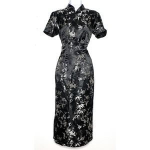 Chinese Traditional Cheongsam Qipao Silk Dress